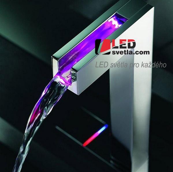 LED osvětlení vodovodu