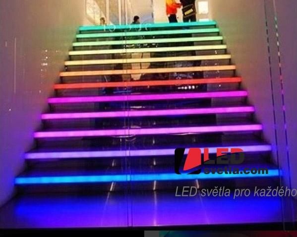 Led osvětlení schodiště