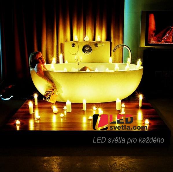LED osvětlení v koupelně