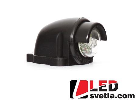 Autosvětlo pro osvětlení SPZ, 12-24V (Série: W27)