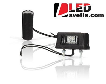 Autosvětlo pro osvětlení SPZ, 12-24V (Série: W52)