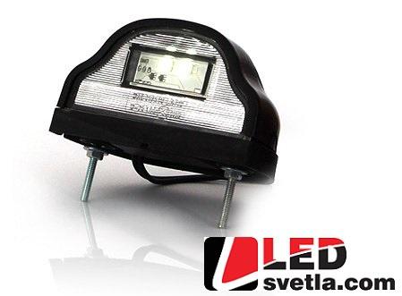 Autosvětlo pro osvětlení SPZ, 12-24V (Série: W72)