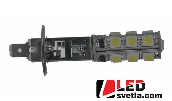 Autožárovka H1, bílá, 12V, 13LED/3SMD