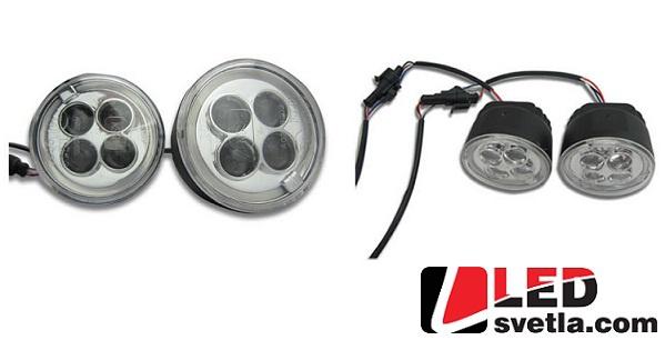Autosvětlo pro denní svícení s funkcí pozičních světel Angel eyes