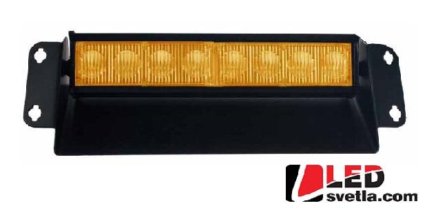 Autosvětlo LED vnitřní, oranžové, 12V, 2-prvkové, PREDATOR