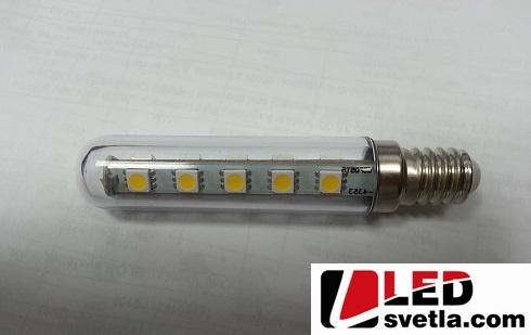 Žárovka E14, 2,5W, 230V, 300°, CW (studená bílá)