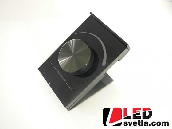 Ovladač - stmívač stolní, RF, černý