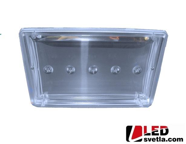 Reflektor LED venkovní, 230V, 5x3W, PW (neutrální bílá)