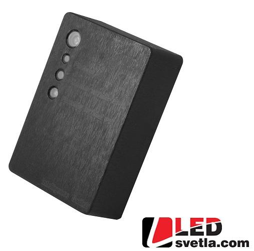 Senzor soumrakový plastový - černý