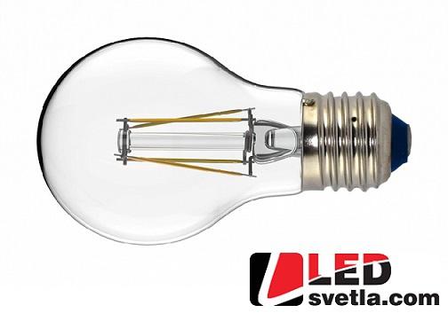 Žárovka E27 - RETRO, 4W, 440lm, 360°, White Label, WW (teplá bílá)