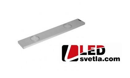 Svítidlo - kuchyňské, 2x24 LED, 6,8 W, WW (teplá bílá)