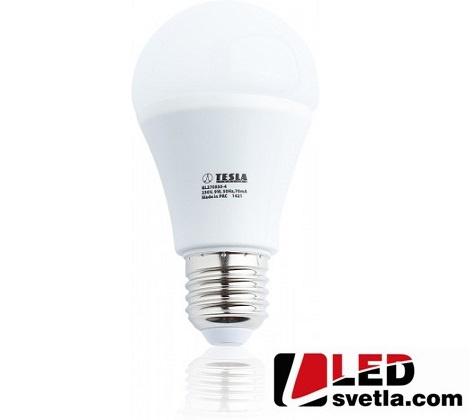 Žárovka E27 - Eco Label, 9W, 806lm, 3000K, WW (teplá bílá)