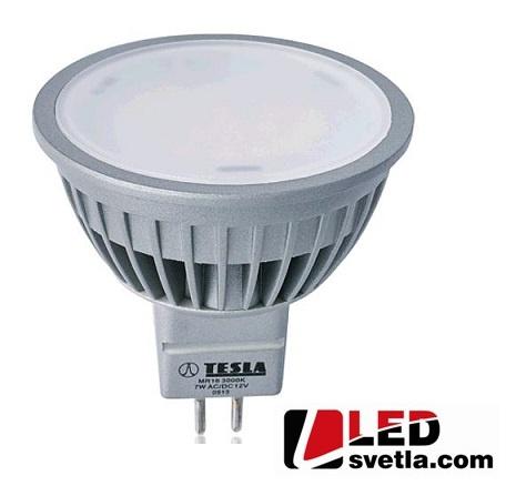 Žárovka MR16, 6,5W, 12V, 500lm, 100°, WW (teplá bílá)