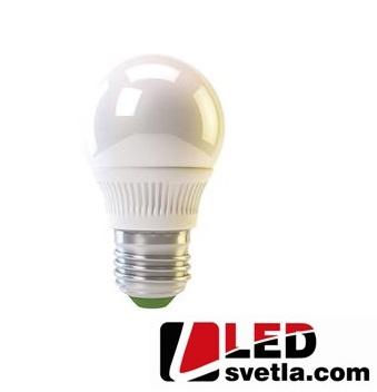 Žárovka E27 - Mini Gloge, 4W, 320lm, 270°, WW (teplá bílá)