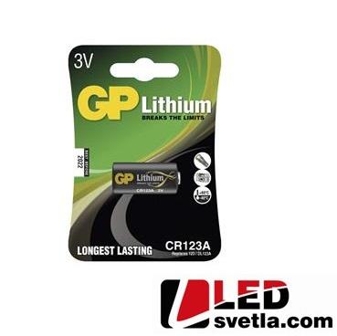 Foto lithiová baterie CR123A
