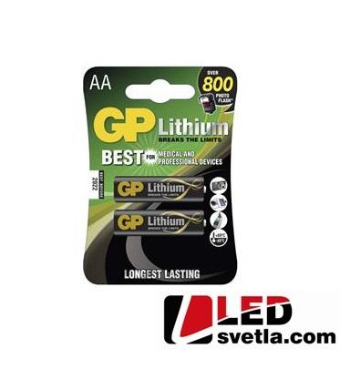 Lithiová baterie FR6 (AA, tužková baterie)