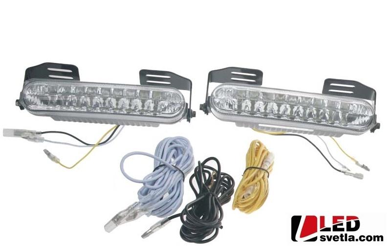 LED světla pro denní svícení, homologace