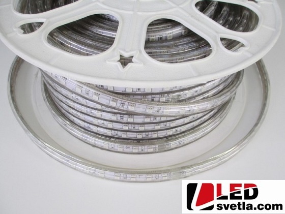 LED pásek 60x5050SMD, 230V, 10W/m, voděodolný, IP67, RGB