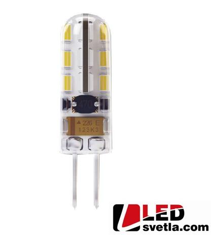 Žárovka G4, 0,75W, 12V, 70lm, mini, WW (teplá bílá)