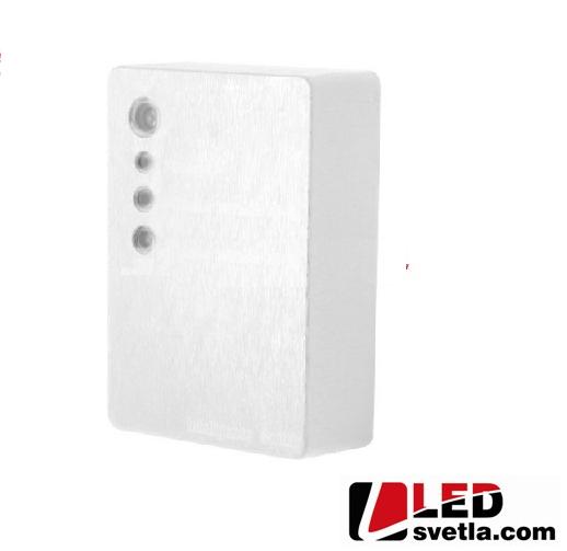 Soumrakový senzor plastový - bílý