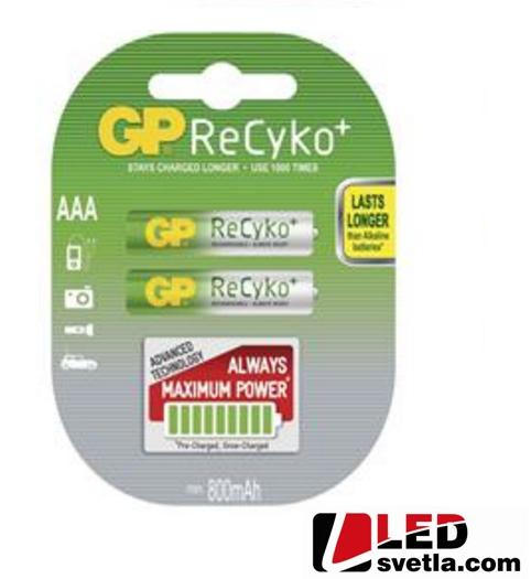 Dobíjecí tužková baterie ReCyko+ (AAA), HR03, 1,2V