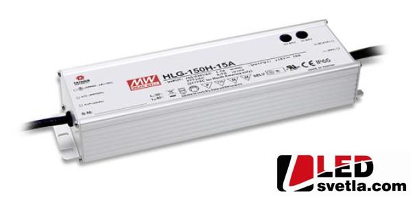 Zdroj MeanWell HLG-150H-12A, pro pouliční osvětlení