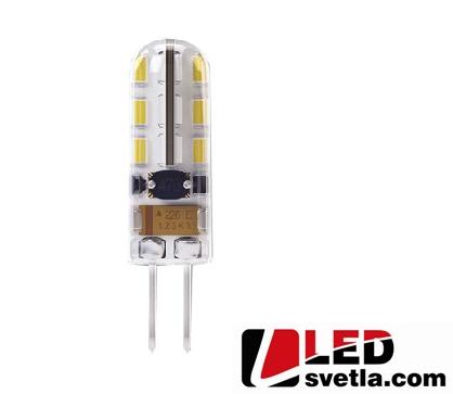 Žárovka G4, 0,75W, 12V, 70lm, PW (neutrální bílá)