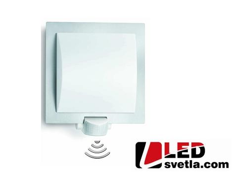 Svítidlo venkovní, nástěnné, 240x230mm, E27, s PIR senzorem