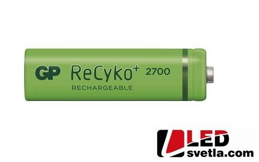 Dobíjecí baterie, GP ReCyko+ 2700, HR06 (tužka, AA), 1,2V